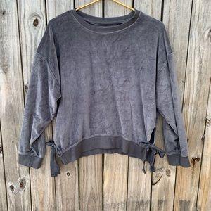 ANA velour sweatshirt. Sz M